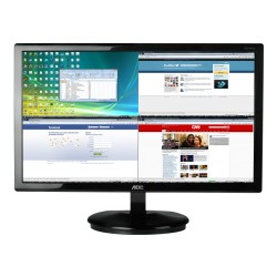 "MONITOR AOC LED 23"" (E2370S) WIDE VGA NEGRO"