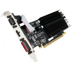 TARJETA DE VIDEO XFX ONE HD5450 2GB 64 BIT DDR3 DVI-VGA-HDMI