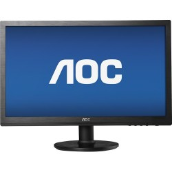 "MONITOR AOC LED DE 18,5"" (E970SWN) WIDE VGA NEGRO"