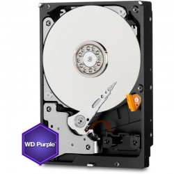 "DD PC WD PURPURA 4TB INTELLIPOWER SATA 3.5"" P/ VIGILANCIA"