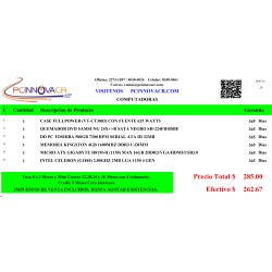 CPU COMPLETO ARMADO PROCESADOR CELERON (G1840)