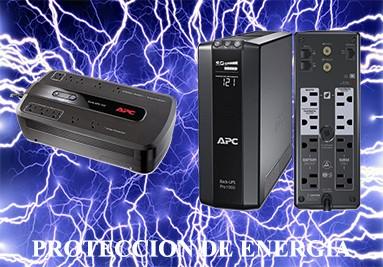 PROTECCION DE ENERGIA EN LAS MARCAS APC Y CDP